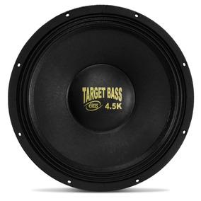 Falante Eros 15 2250w Target Bass 4.5k Medio Grave Subwoofer