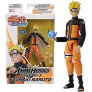 Boneco Uzumaki Naruto - Shippuden Anime Heroes Bandai