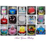 Tortas Decoradas, Temáticas, Cupcakes, Mesas Dulces
