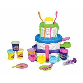 Massinha Play-doh Fábrica De Bolos - Hasbro