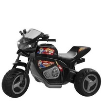 Triciclo Moto Elétrica Turbo Preta 6v 1430l - Magic Toys
