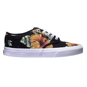 zapatillas vans con flores