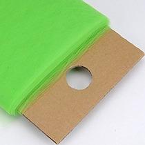 Bbcrafts Manzana Verde Poliéster Tela De Tul De Pernos 54 P
