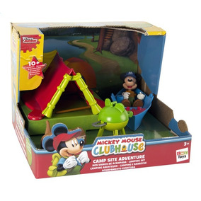 Mickey Mouse Campamento De Aventura Jugueteria Bunny Toys