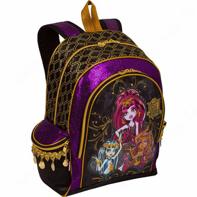 Mochila Monster Escolar High De Costas Barata