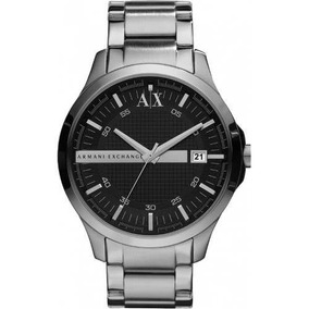 Anel Ax Armani Masculino Prata - Joias e Relógios no Mercado Livre ... b236dd65b7