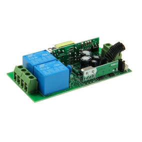 Pieza Modulo 2ch Rf Relay Wireless Controlador Cr 315mhz