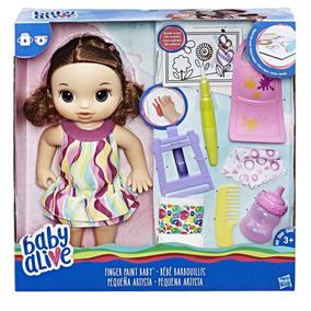Baby Alive Pequena Artista Morena Hasbro