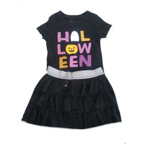 Outfit Halloween Para Niña Bruja, Falda Y Blusa