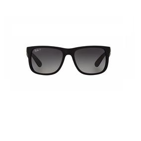 Ray Ban Rb4165l 622/t3 Justin Polarizado Óculos De Sol 5,5cm