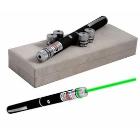 Caneta Laser Pointer Verde Lanterna 2000mw Até 9km