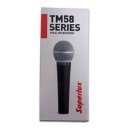 Microfone Superlux Tm58 Vocal