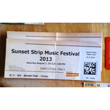 Linkin Park Festival Entrada Show 2013 Los Angeles (stp) Gtm