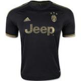 Camiseta Original Juventus Turin Negra Dorada Talla S Adi