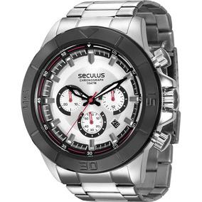 6abf16c67da Relogios Seculus Aco Cronografo Masculino Minas Gerais - Relógios De ...