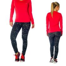 Calzas Chupin Lady Estilo Camuflada - Fitness Point Mujer