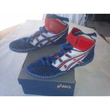 Zapatillas De Lucha Olimpica Asics Nuevos Del # 28.5 Mex