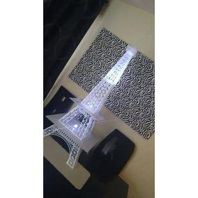 Torre Eiffel Base De Acrilico