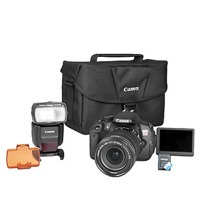Camara Canon T5i Lente 18-135mm Stm+flash+maletin+sd 16gb