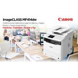 Canon Mf 414 Dw Multifuncional Laser Negro + Obsequio