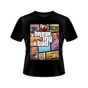 Camiseta Breaking Bad Gta