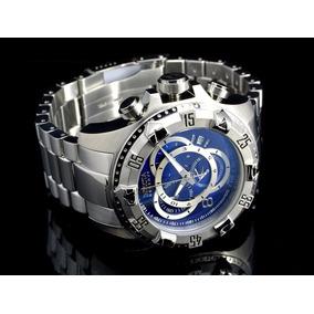 Relógio Invicta 5526 Excursion Prata Azul Prova Dagua Ref216