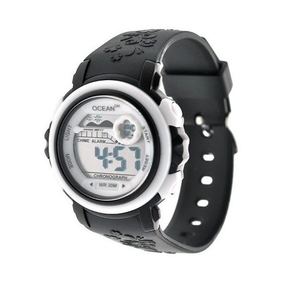 Reloj Mujer Digital Ocean Dr. Deportivo Sumergible Dig003
