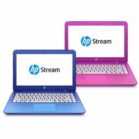 Netbook Hp Stream Intel Celeron 4 Gb 32 Gb W10 + Brinde