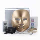 Mascara Led Gold 7 Colores Rejuvenece Piel Rostro Stock 10u
