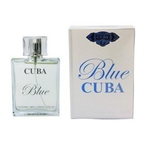 Perfume Masc Cuba Blue ( Ck One ) Edp 100ml - Leilão