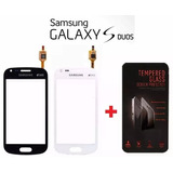 Tela Vidro Touch Galaxy S Duos Gt-s7562l S7562 + Pelicula