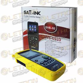 Satlink Ws-6933 Dvb-s2 Localizador Original Atualizado .