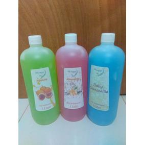 Gel Antibacterial Con Color Y Fragancia 1 Litro!!
