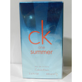 Perfume Ck One Summer Calvin Klein Original 100 Ml Unisex