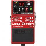 Pedal Looper Boss Rc-3 Loop Station
