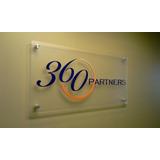 Letreros De Acrilico 80x60cm Tu Logo En Vinil De Recorte