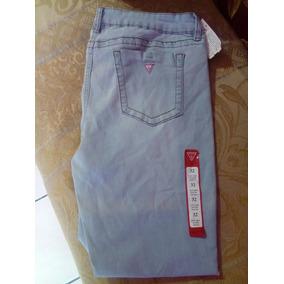 Pantalon Guess De Mezclilla 100% Original