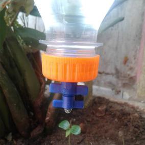 Gotejador Regulavel P Garrafa Pet - Kit Com 10 Unid + Brinde