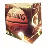 Balón Basketball Nba Spalding Baloncesto Tf150 + Caja Regalo