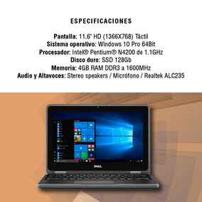 Notebook Dell Latitude 3189 2-in-1 11.6 Touch 128gb 4gb