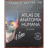 Atlas De Anatomía Humana Netter 6ta Edicion 2015 + Cd
