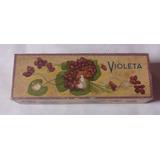 Caixa De Sabonete Antiga - Violeta - Anos 50/60