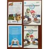 Caja Original Mario Kart Para Nintendo Wii Con Manuales