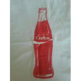 Franela Coca Cola Personalizada Talla Nombre Carlos