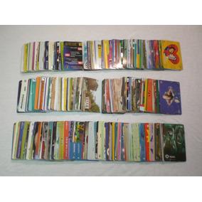 Lote Coleção Cartões Telefônicos Cartão De Telefone Antigos