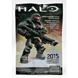 Spartan Warrior Black Sdcc 2015 Halo Mega Bloks Legacyts