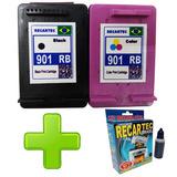 901 Preto + 901 Color J4580 J4660 J4640 J4500 + Brinde