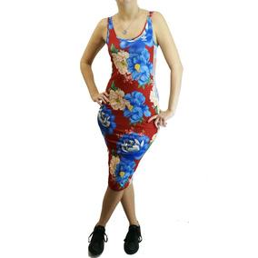 Vestido adidas Originals Flores Rjo/cte Dama Deporfan
