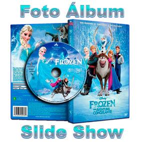 Slide Show Foto Álbum Com O Tema Frozen