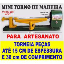 Torno Para Arte Em Madeira 60 Cm